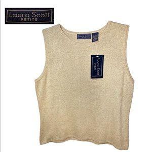 Laura Scott NWT Ladies Large Petite Sweater